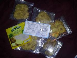 Wholesale ring: Organic Raw Dried Pineapple