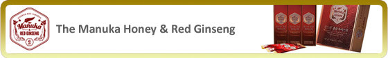 The Manuka Honey & Red Ginseng