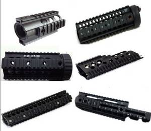 Wholesale j: Tactical Handguard Rail Mount Free Float External Paintball Part Noveske LARUE CQB SCAR P90 RIS AK47