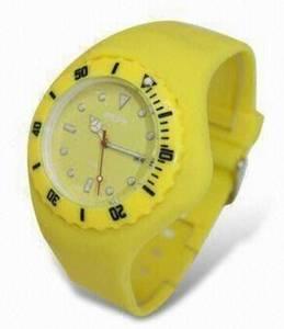 Wholesale silicone watch: Wrist Watch Sport Silicone Watch Jelly Watch