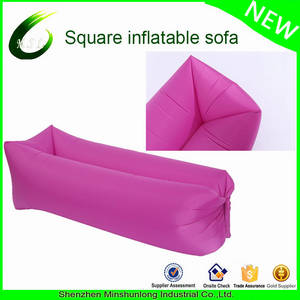 Wholesale pvc travel bag: Hot! Fast Inflatable Air Couch Portable Outdoor Camping Chill Bed Nylon Hangout Laybags