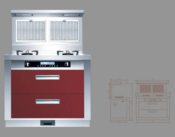 Integrated Kitchen Appliances Sell Integrated Kitchen Appliances Gas Cooker Range Hood
