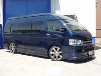 High Roof Toyota Hiace Commuter Bus 15 Seats Blue Color