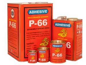 Wholesale shoes: P66 - Gold Dragon Adhesive