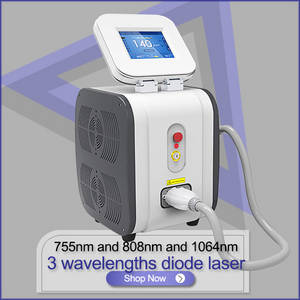 Wholesale natural air cool pack: Professional Depilacion 808nm Diode Laser Hair Removal Machine