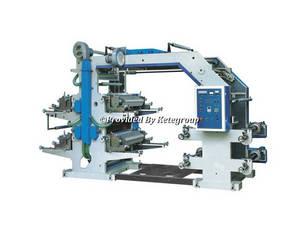 Wholesale flexographic printing machine: KTFP-A4 Series 4 Color Flexographic Printing Machine