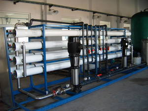 Wholesale sea water desalination system: Reverse Osmosis Plant