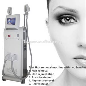 Wholesale 24hr car service: Vertical IPL SHR Hair Removal Machine with Two Handles