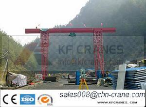 Wholesale crane rail: Rail Mounted Single Jib Crane European Gantry Crane