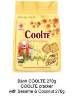 Coolte Sesame and Coconut Cracker 270g