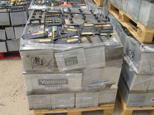Wholesale drained battery scrap: 53621 MF 12V 36AH Car Batteries Drained Car Battery Scrap
