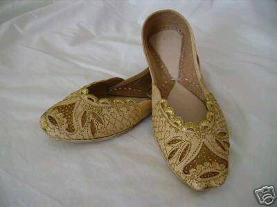 Sell Indian Beaded Ladies Shoes Sandal Leather Slipper