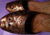 Indian Handcrafted Designer Leather Women Footwear