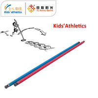 Vaulting Pole Flying for Kids Athletics
