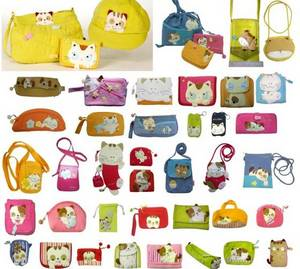 Wholesale Other Handbags, Wallets & Purses: Character Pouch, Wallet,Purse