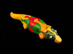 Wholesale handmade: Crocodile Puzzle Wooden Toys - Handmade - Green Material & Colorful Safety
