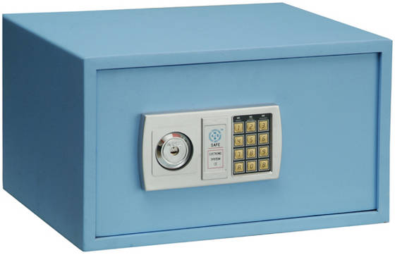 Small mini safe home electronic safe safety deposit box for Small safe box for home