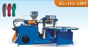 Wholesale shoe making machine: PVC Double Color Shoes Sole Making Machine (JG-112-120T)