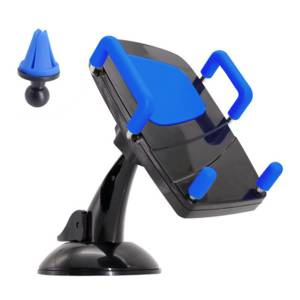 Wholesale cell phones: 2-IN-1 Universal Car Mount Phone Holder Cell Phone for Car Air Vent Dashboard
