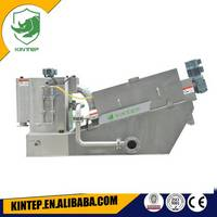 Volute Sludge Dewateting Machine for Biochemical Pharmacy Sewage
