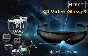 Wholesale virtual reality glasses: Newest 3D Video Glasses with 98 Inch Virtual Screen, Virtual Reality Glasses
