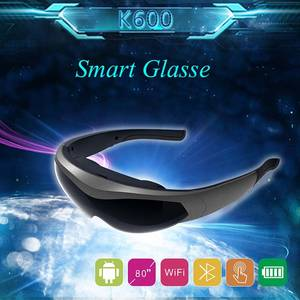 Wholesale gamepad: Smart Glasses with Android System, Only 100g , WIFI CONNECT, VR Glasses with Touch Panel