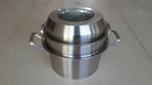 Wholesale Food Steamers: Stainless Steel Steamer Pot
