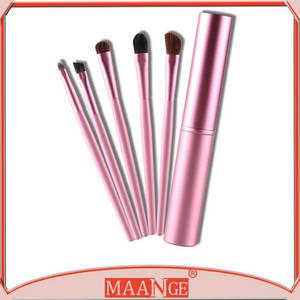 Wholesale makeup brush goat hair: MAANGE 2015 Best Professional Makeup Brush Sets