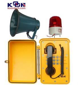 Wholesale weatherproof phone: Loud Speaking Phone IP Phone KNSP-08 Weatherproof Phone
