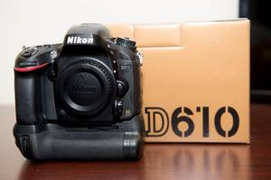 Wholesale Digital Cameras: Nikon D610 24.3MP Digital SLR Camera - Black