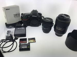Wholesale Digital Cameras: Nikon D810 DSLR Camera with 24-120mm