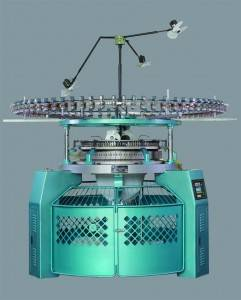 Wholesale Knitting Machinery: 3-Thread Fleece Circular Knitting Machine