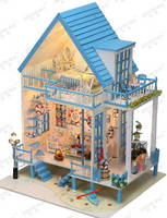 Sell 3D Puzzle, diy house, wooden model, miniatures 130-11