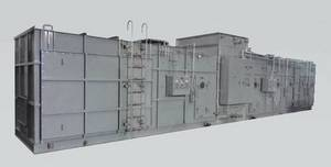 Wholesale remove radioactivity system: Air Cleaning Unit