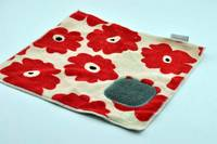 Sell New Products Microfiber With Scouring Pad Prited Cleaning Cloth