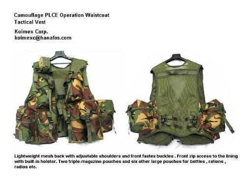 Tactical Assault Vest PLCE