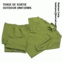 Military Outdoor Uniforms /Tenue de Sortie