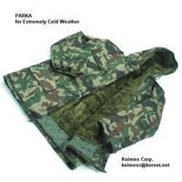 Military BW Parka