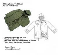 Military Field Parka