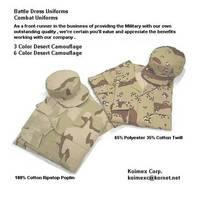 Desert Combat Uniforms