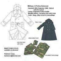 Military & Police Raincoat