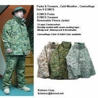 ECWCS Gen II Parka & Trousers