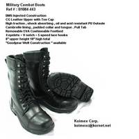 Military Quick Lace Boots