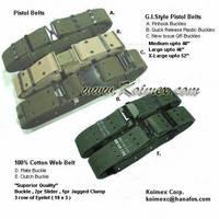 Military Pistol Belt (A)