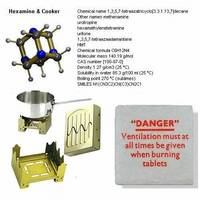 Hexamine Cooker