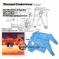 Military Thermal Underwear Set