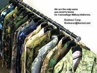 Military Camouflage Uniforms