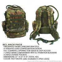BCL(Basic Combat Load) Back Pack