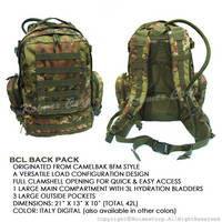 BCL(Basic Combat Load) Back Pack