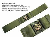 Army Belt with Logo